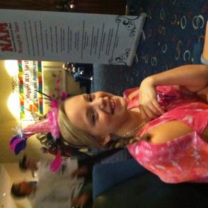 Preteen Katie Klein wishes NAM a happy 10th birthday!