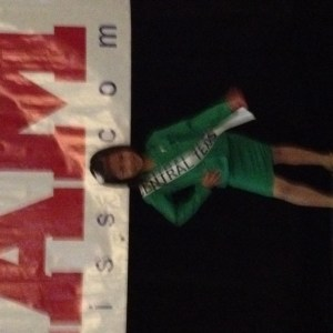 Miss Texas Princess Kristel with her Interview suit!