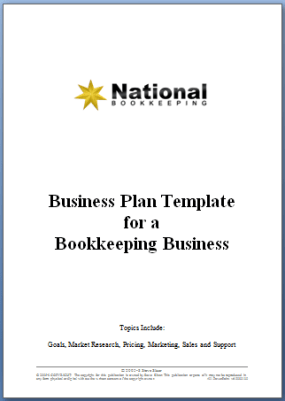 business plan for bookkeeping business