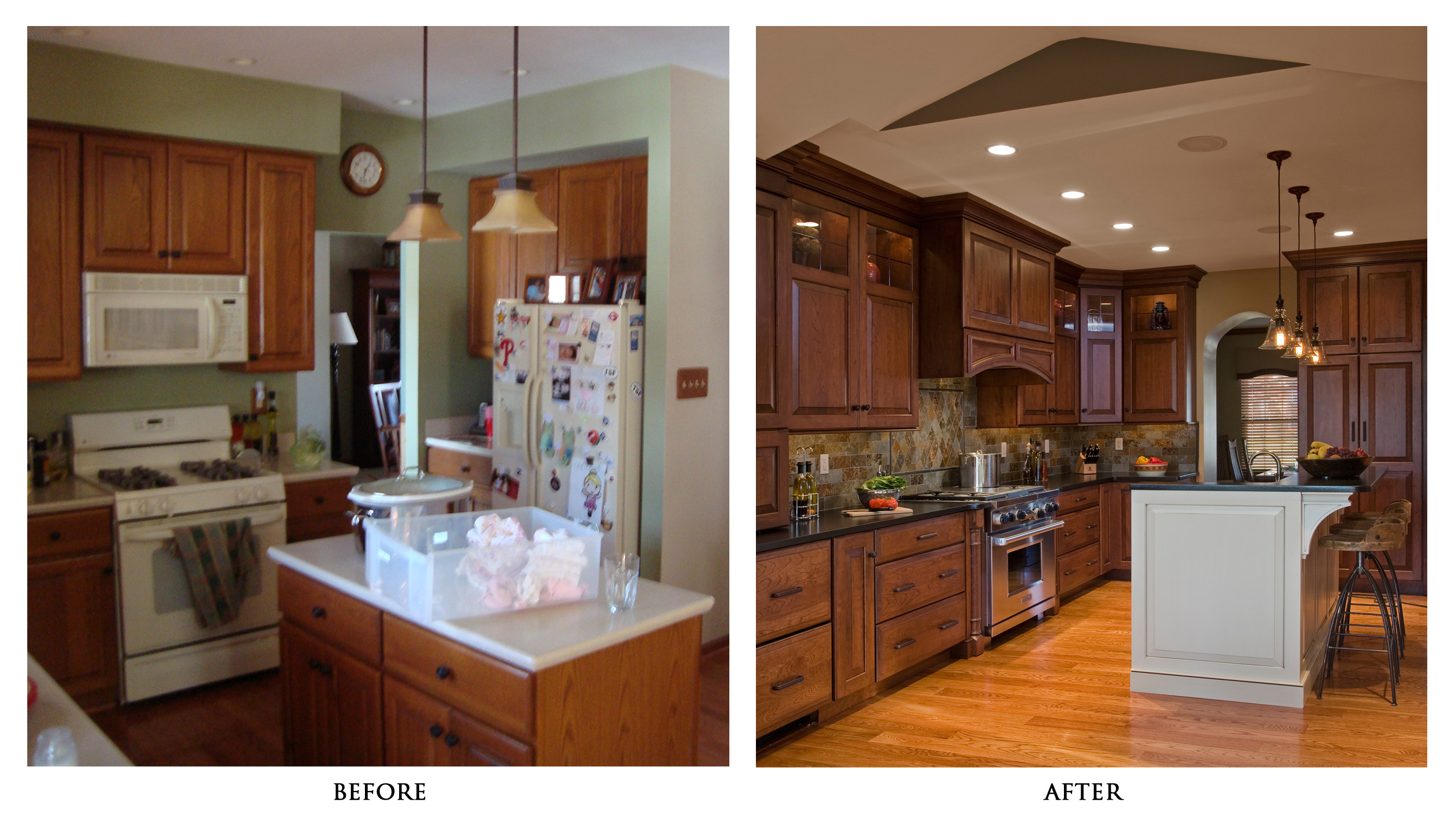 kitchen remodels before and after home depot garbage cans national cash offer we buy ugly homes transformation with