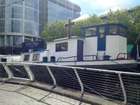 Greater London, DOCKLANDS, St Peters Barge (Sarah Crossland 2014) #001