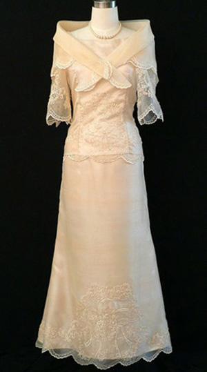Filipiniana Dress For Rent In Divisoria