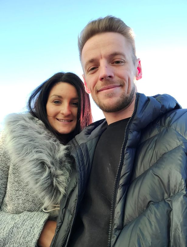 The couple had their offer on a house accepted within just two months of first meeting