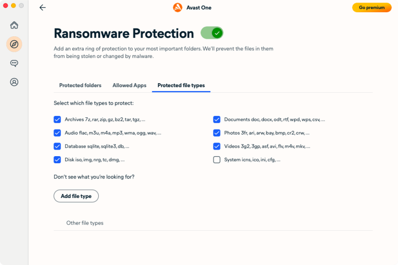 Avast One Essential for Mac Ransomware Protection