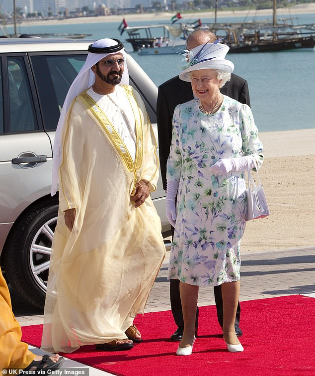 Let us imagine, for a moment, that Dubai's autocratic ruler Sheikh Mohammed al-Maktoum was not a long-standing friend of the Queen (both pictured)