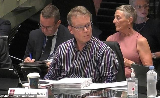 Jim Betts had also suggested in his farewell email that his department be active in campaigning for a treaty with Aboriginal Australians even though public service departments are meant to be non-partisan and not engage in political activities