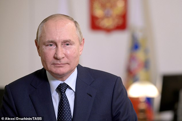 President Vladimir Putin confirmed that he had received Russia's Sputnik V shot earlier this year