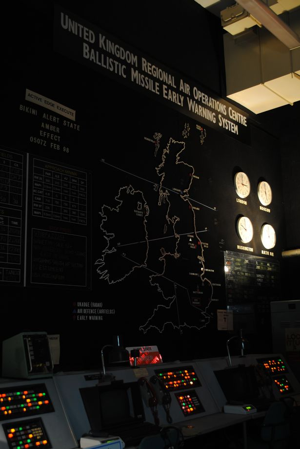 The Ballistic Missile Early Warning System that once operated at RAF High Wycombe.