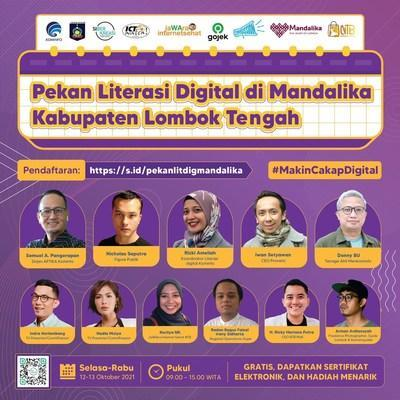 Mandalika Digital Literacy Week: Indonesia's Government Aims to Combat Hoax and Scale Up the MSMEs
