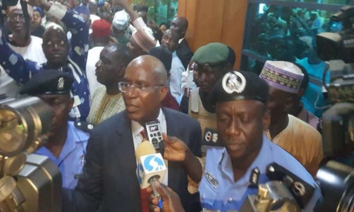 Image result for I won't answer your questions – Senator Omo-Agege tells panel