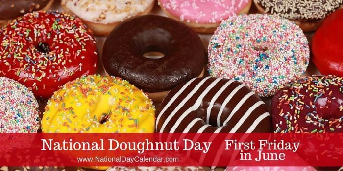 National Doughnut Day First Friday in June