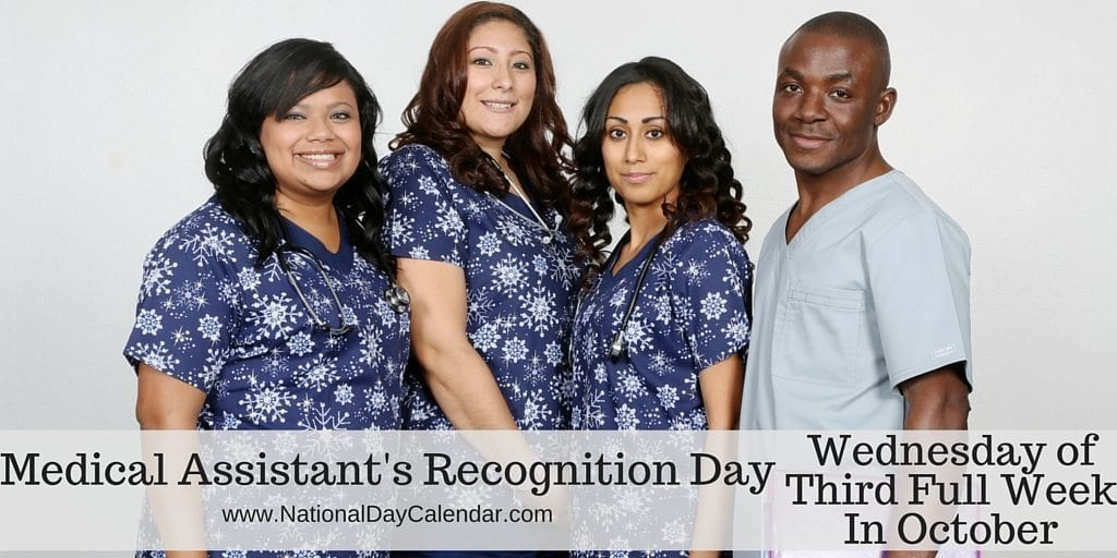 MEDICAL ASSISTANTS RECOGNITION DAY – Wednesday of Third ...