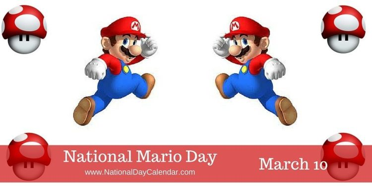National Mario Day - March 10