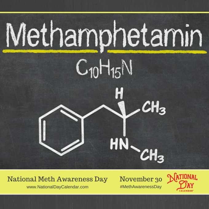 National Meth Awareness Day - November 30