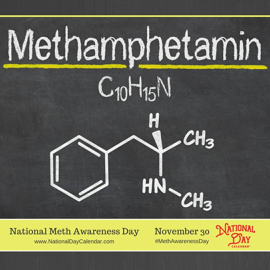 Meth is a scourge on our society... Meth Awareness Day is about beating the scourge...