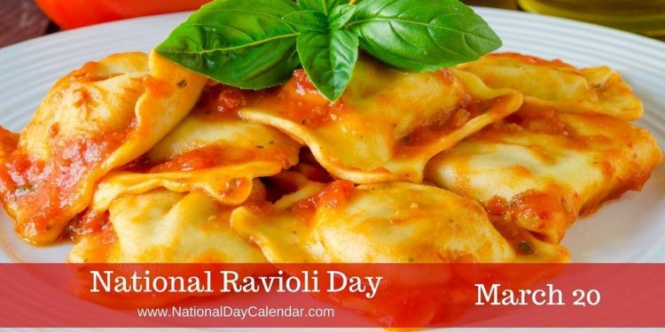 Image result for national ravioli day 2018