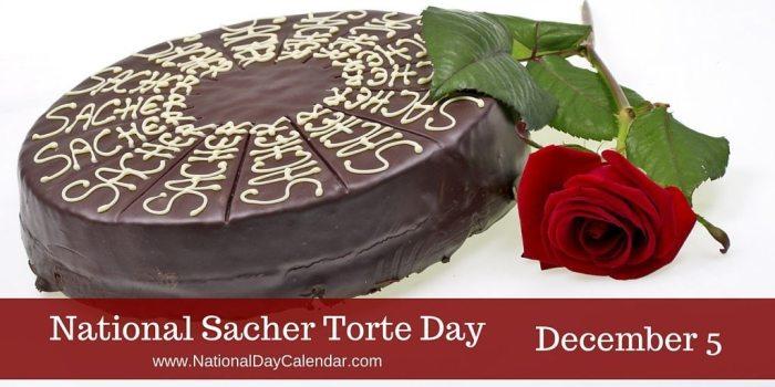 National Sacher Torte Day - December 5