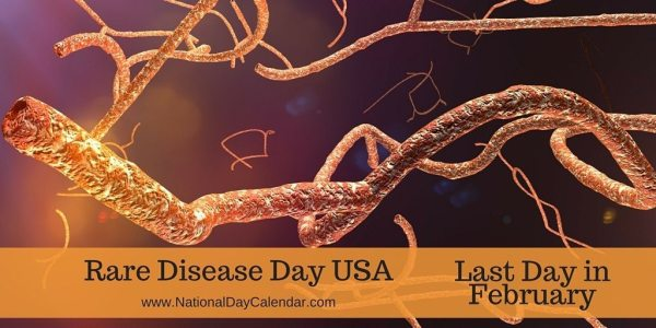 Rare Disease Day USA - Last Day in February