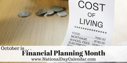 Financial Planning Month - October