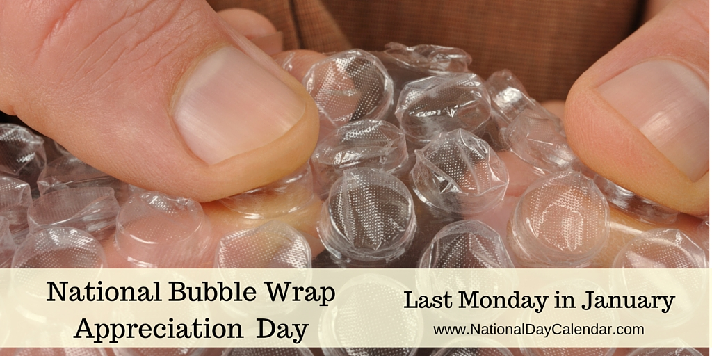 Bubble Wrap Day stems from interesting history, check this out...