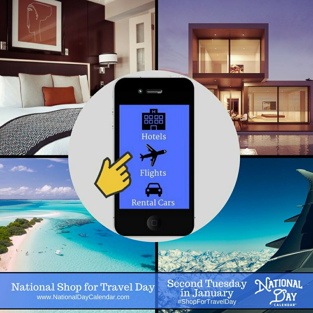 Shop For Travel Day - be sure to thank  @traveltech for their advocacy of the Online Travel Shopping experience we enjoy each and every day!