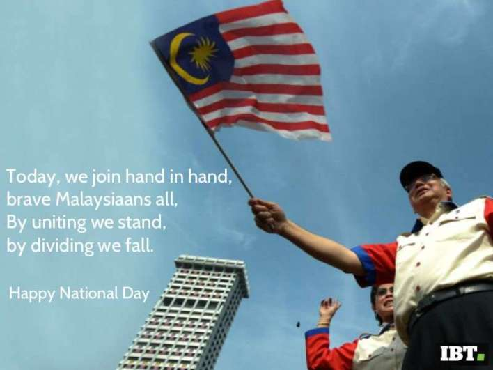 Malaysia Independence Day SMS