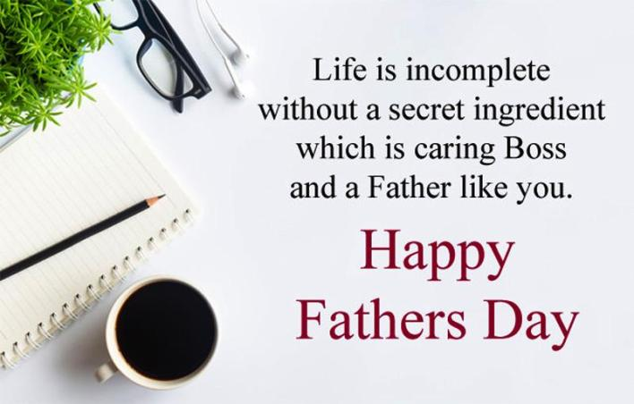 Fathers Day Quotes for my Boss