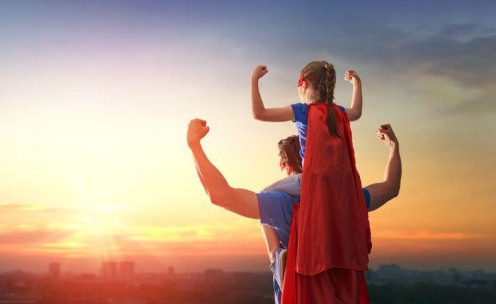 father superhero