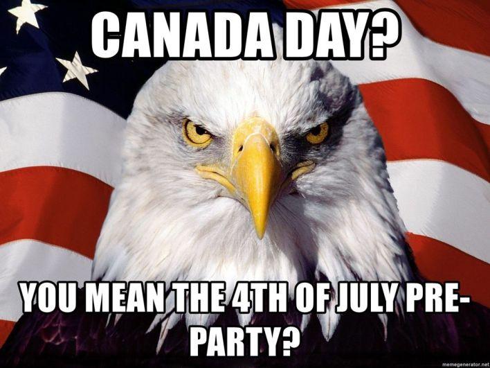 Canada Day Meme