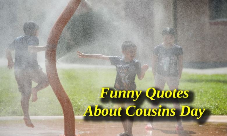 Cousins Day Funny Quotes
