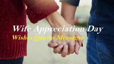 Wife Appreciation Day wish