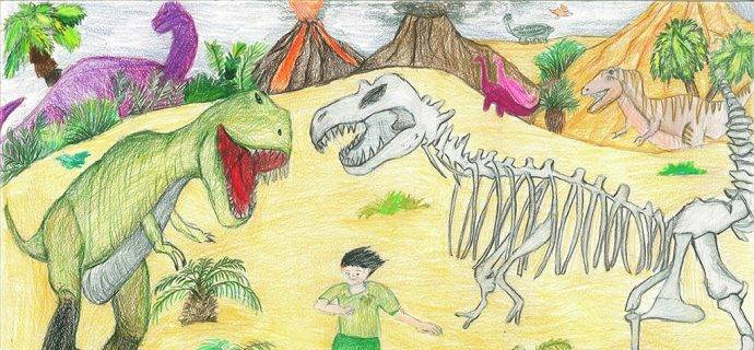 National Fossil Day Art