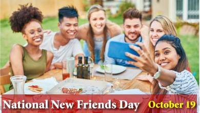 National New Friends Day