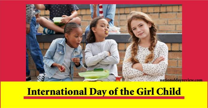 national Girl Child Day date