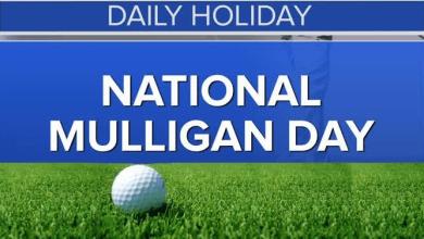 National Mulligan Day