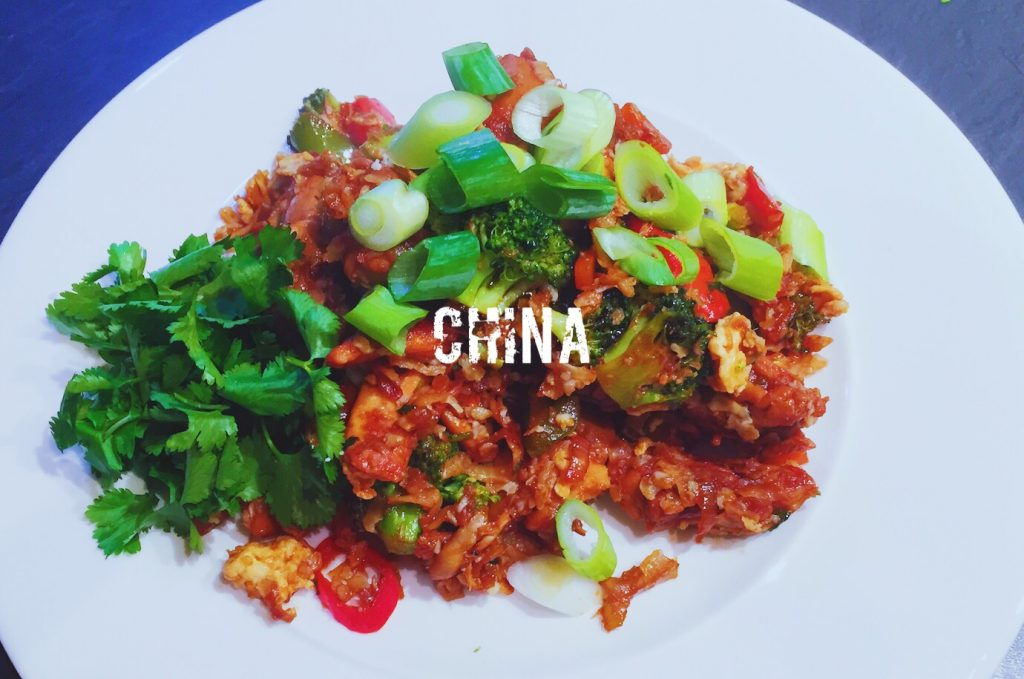Chicken Fried Cauliflower Rice | What is the national dish of china?