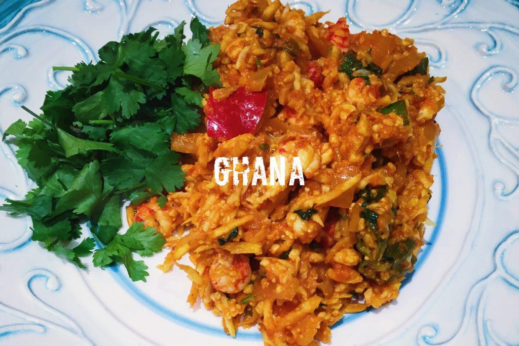 What is the national dish of ghana paleo cauliflower jollof rice nationaldish