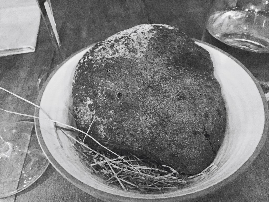 Homemade soda bread at Vakst Copenhagen National Dish Review