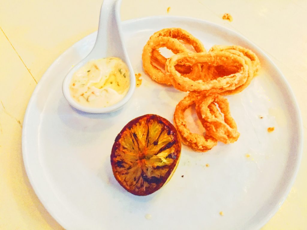 What's it like to eat squid rings at New Moon Tapas, Clifton, Bristol