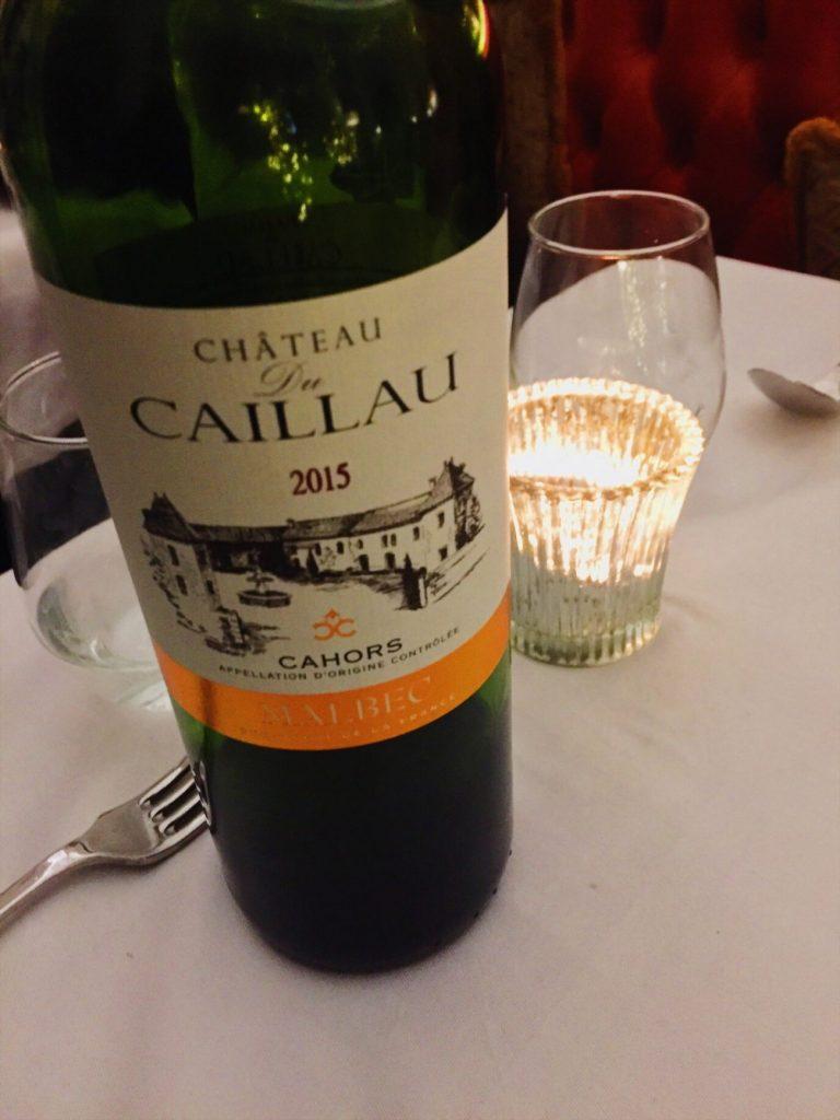 The Ivy Montpellier Brasserie wine list Cheltenham