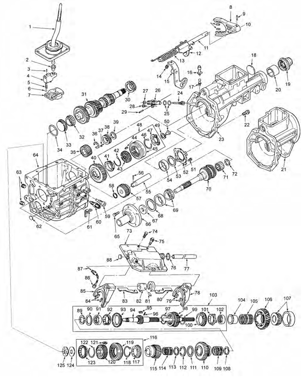 Corvette Borg Warner T10 Transmission Identification.html
