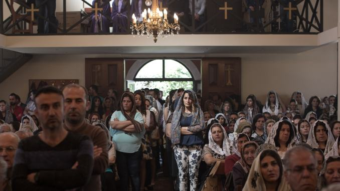 assyrian christians make up a larger share of refugees under president trump