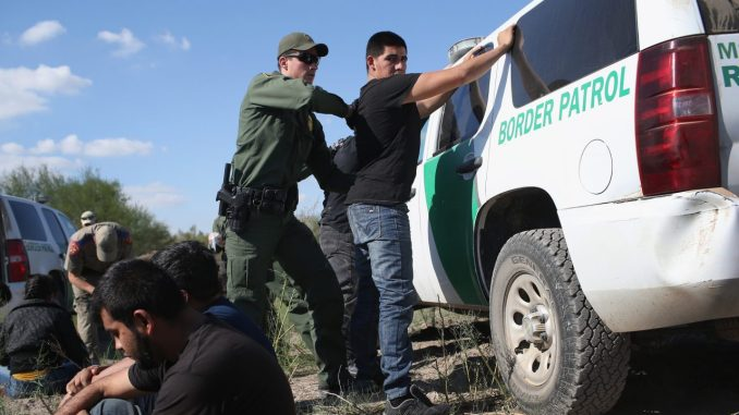 illegal alien being detained by ice