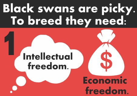 economic & intellectual freedom infographic