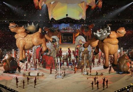 canadian culture is summed up by the vancouver 2010 closing ceremonies: devoid of any and all meaning