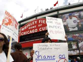 Chicago march in support of illegal immigrants in Illinois