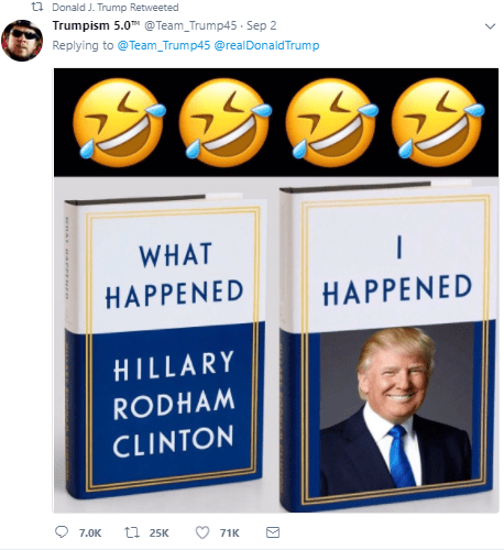 donald trump funny tweet