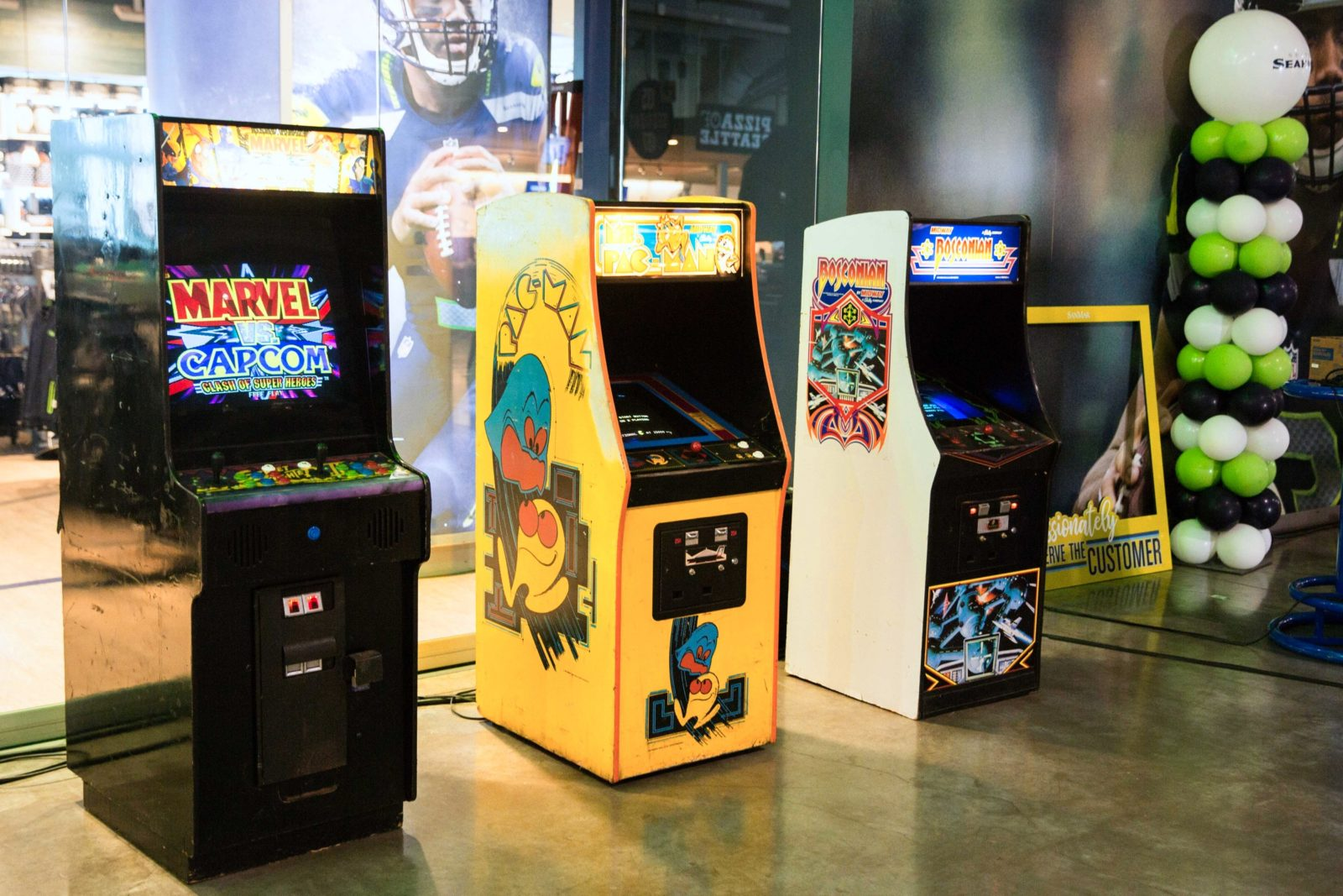 Classic Arcade Game Rental National Event Pros