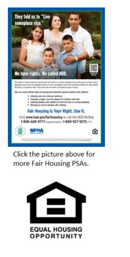 Free Civil Rights Webinar At 3pm 927 >> Advertising Guidelines National Fair Housing Alliance