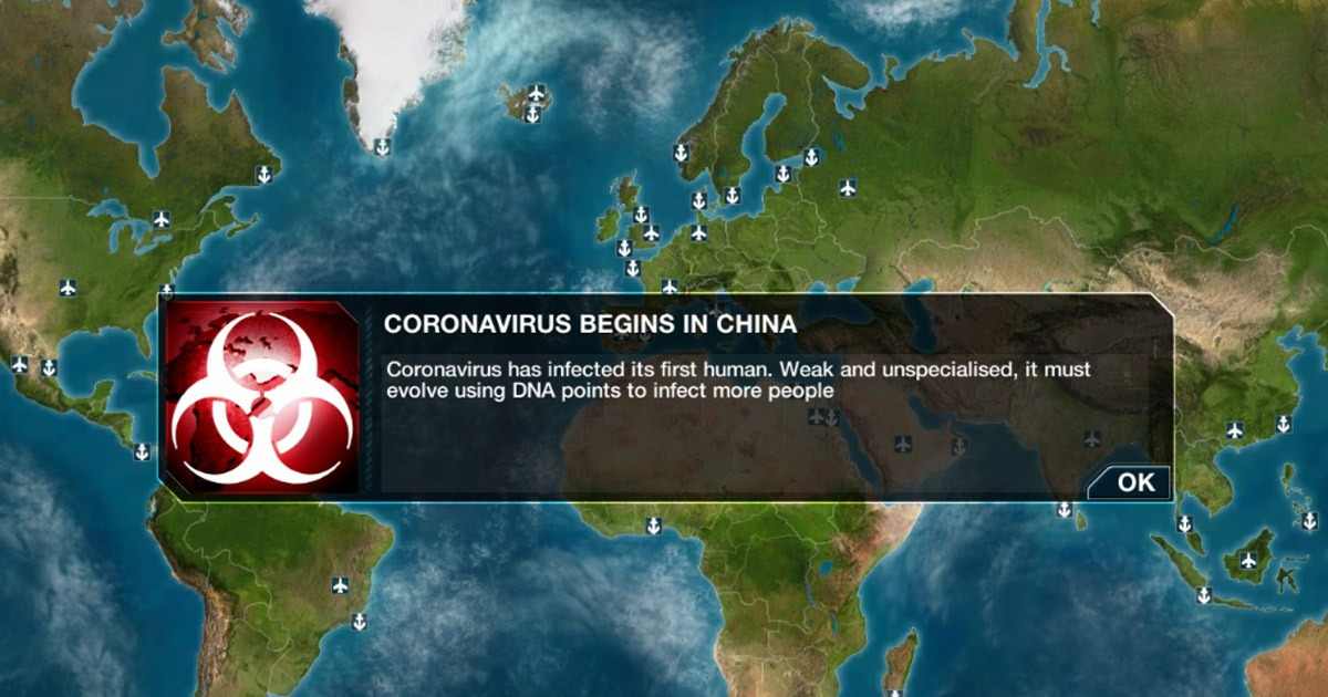 Plague Inc. Video Game Banned in China During Coronavirus Outbreak ...